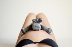 grossesse boudoir © Les Photos d'Alicia