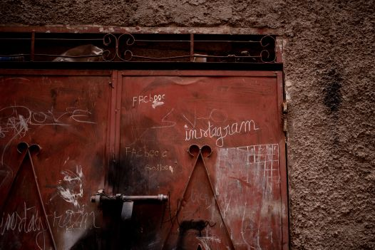 porte connectée, Marrakech