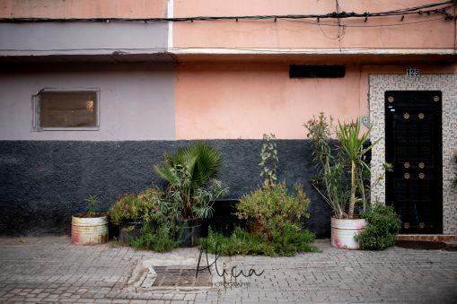entrée quatier des tanneurs Marrakech